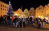 3rd Advent Sunday - Post Office of Baby Jesus at Golden Angel Arrival of the White Lady, Český Krumlov, 11.12.2011, photo by: Lubor Mrázek