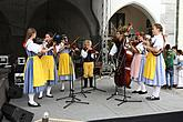 Saint Wenceslas Celebrations and International Folk Music Festival 2012 in Český Krumlov, Saturday 29th September 2012, photo by: Lubor Mrázek