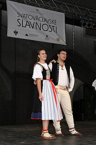 Saint Wenceslas Celebrations and International Folk Music Festival 2012 in Český Krumlov, Saturday 29th September 2012