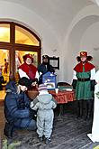 2. Advent Sunday - Baby Jesus Post Office located in the U Zlatého anděla Hotel and arrival of the White Lady, 9.12.2012, photo by: Lubor Mrázek