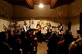 A traditional Christmas concert of the local folk band Kapka, 25.12.2012, photo by: Lubor Mrázek