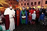 Epiphany in Český Krumlov and Putting the Lights off Christmas Tree, 6.1.2013, photo by: Lubor Mrázek