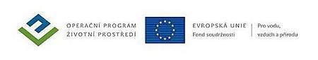 Logo dotace Fond soudržnosti a Operační program Životní prostředí
