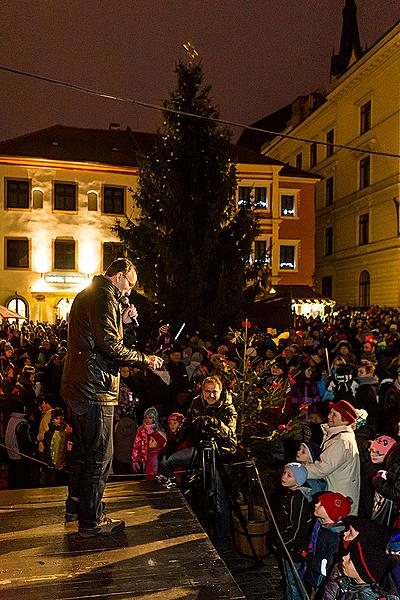Musical and Poetic Advent Opening 30.11.2014, Advent and Christmas in Český Krumlov 2014
