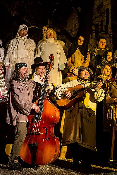 Live Nativity Scene, 23.12.2014, Advent and Christmas in Český Krumlov