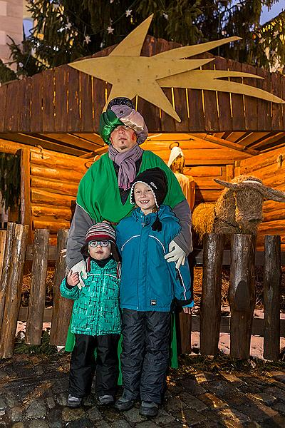 Three Kings, 6.1.2015, Advent and Christmas in Český Krumlov