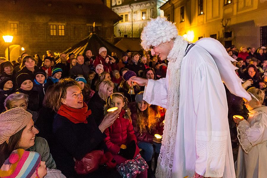 Live Nativity Scene, 23.12.2015, Advent and Christmas in Český Krumlov