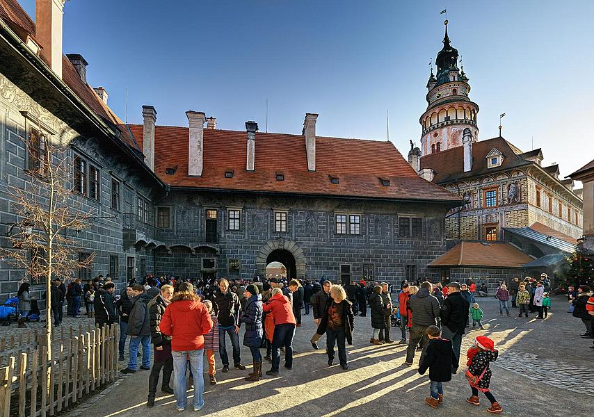 Christmas for the Bears, 24.12.2015, Advent and Christmas in Český Krumlov
