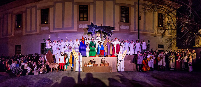 Živý Betlém, 23.12.2015, Advent a Vánoce v Českém Krumlově