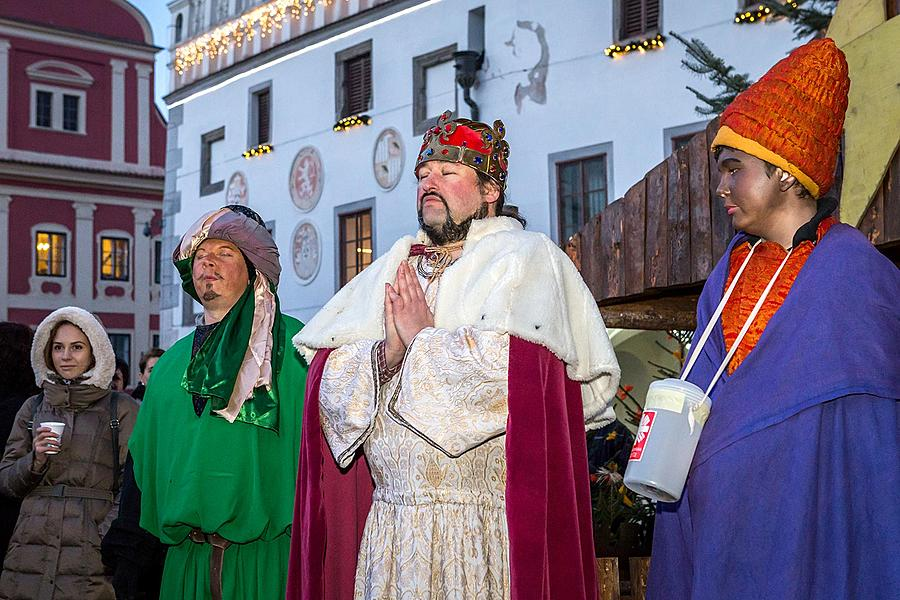 Three Kings, 6.1.2016, Advent and Christmas in Český Krumlov