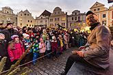 St. Nicholas Present Distribution 4.12.2016, Advent and Christmas in Český Krumlov, photo by: Lubor Mrázek
