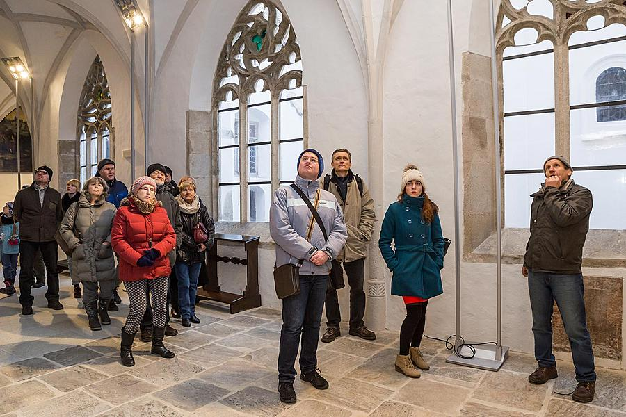 Český Krumlov Monasteries: Craft Workshop and Christmas, Decoration Making, 17.12.2016