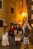 Live Nativity Scene, 23.12.2016, Advent and Christmas in Český Krumlov, photo by: Lubor Mrázek