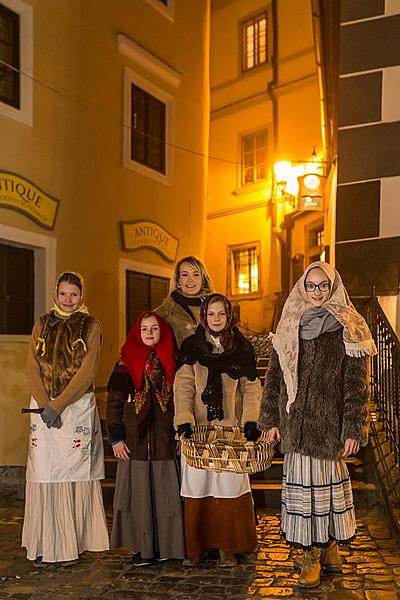 Live Nativity Scene, 23.12.2016, Advent and Christmas in Český Krumlov