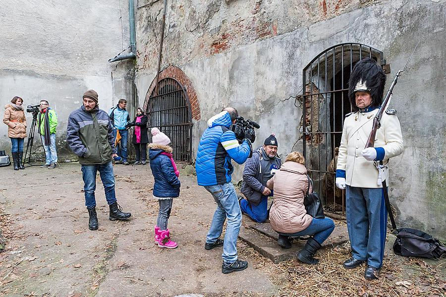 Christmas for the Bears, 24.12.2016, Advent and Christmas in Český Krumlov