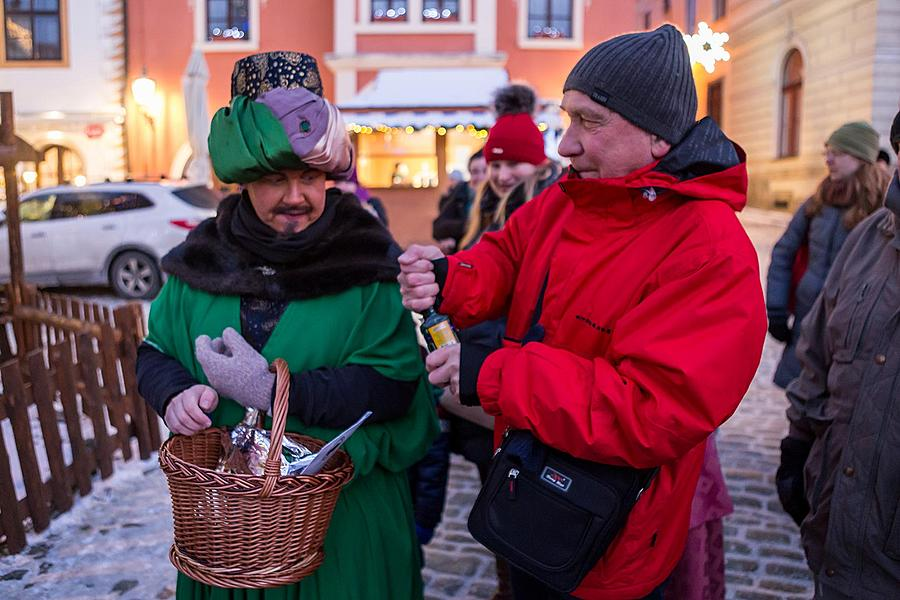 Three Kings, 6.1.2017, Advent and Christmas in Český Krumlov