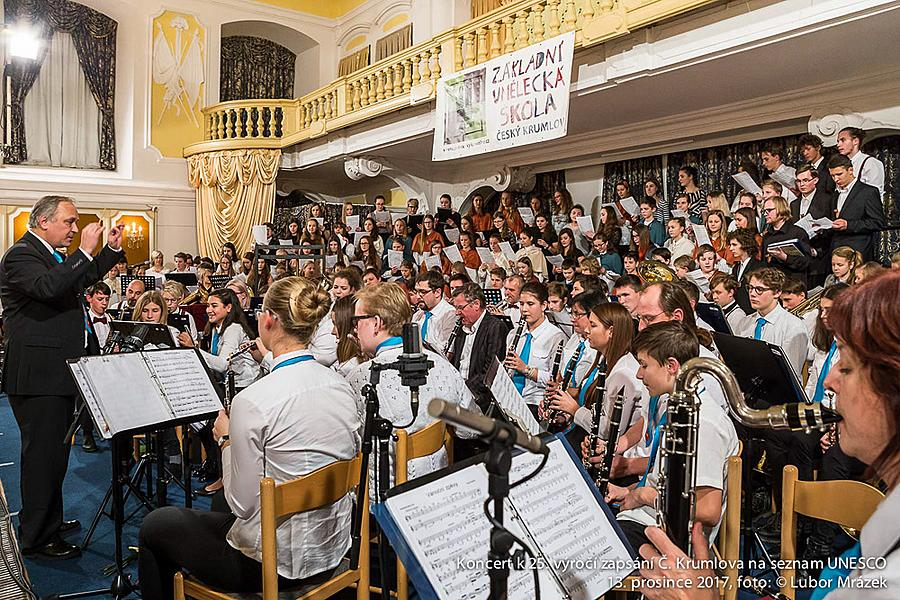 Concert for the Town to the 25th Anniversary of Enumeration of Český Krumlov in the UNESCO List, Castle Riding School 13.12.2017