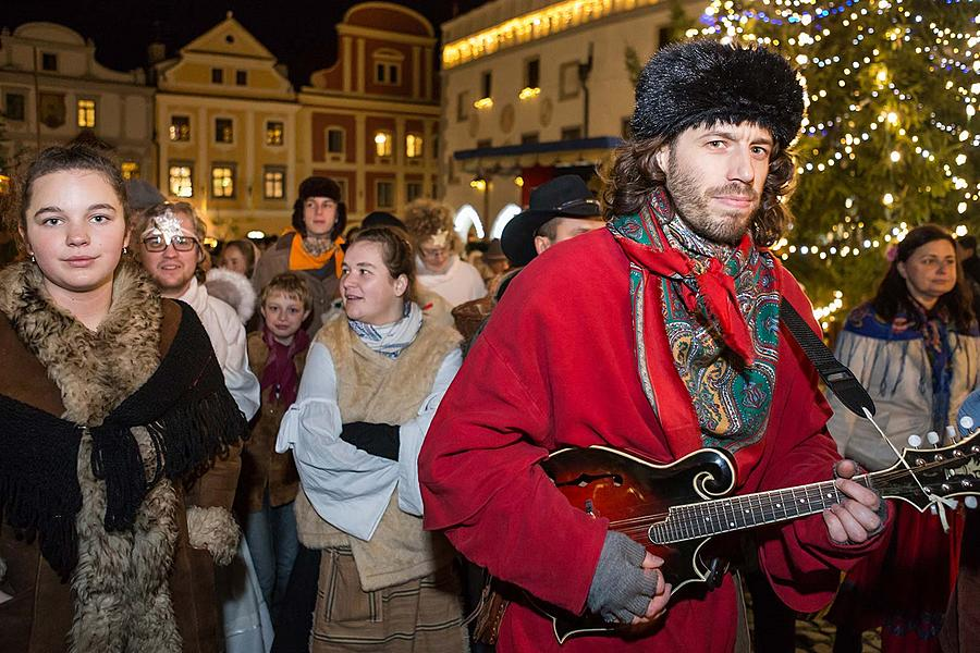 Live Nativity Scene, 23.12.2017, Advent and Christmas in Český Krumlov