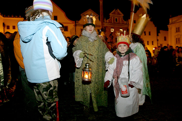 Advent 2006 in Český Krumlov in pictures, photo: © 2006 Lubor Mrázek